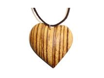 _0005_Dřevěný přívěšek-srdce-zebrano