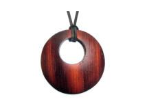 _0028_Dřevěný přívěšek-kruh-padouk