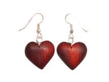 _0057_Dřevěné náušnice-srdce-padouk