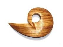 _0092_Dřevěná spona-vír-zebrano
