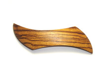_0133_Dřevěná spona - vlnka - zebrano