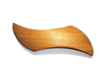 _0135_Dřevěná spona - vlnka - třešeň