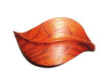 _0152_Dřevěná spona - list - padouk